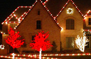 MetroTexLandscapeManagement Christmas Lighting & Outdoor Lighting Installation, Repair, Maintenance & L.E.D. replacement LED electricity cost savings